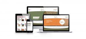 Página web personalizada de Hilo de Plata