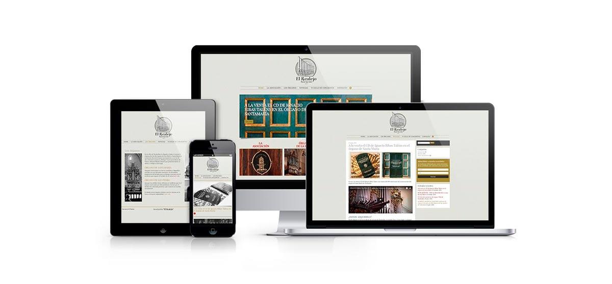 Página Web Asociación El Realejo