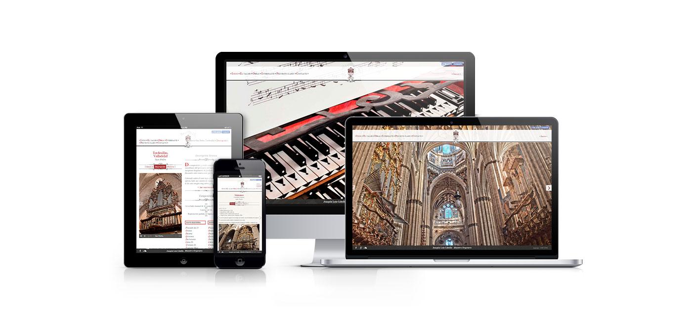 Página web personalizada de Joaquin Lois | www.joaquinlois.com