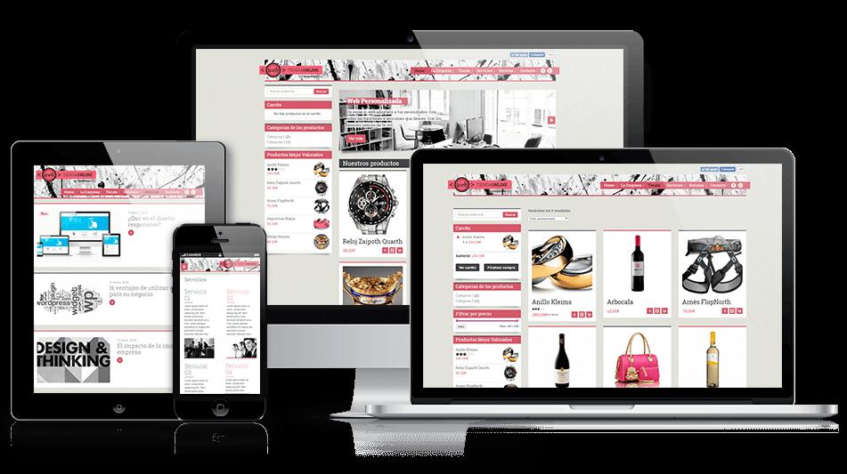 Modelo Web Tienda online